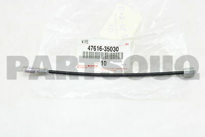 4761635030 Genuine Toyota WIRE, PARKING BRAKE, RH/LH 47616-35030