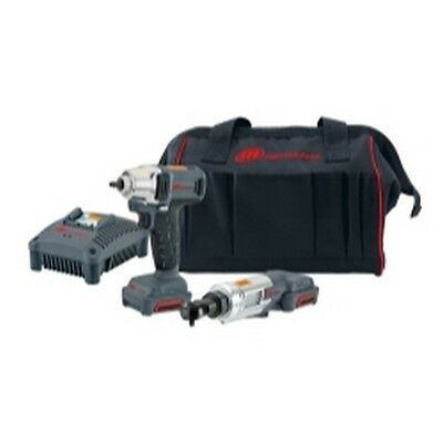 2 Piece IQv12 Cordless Impact/Ratchet Kit IRTIQV12-202 Brand New!