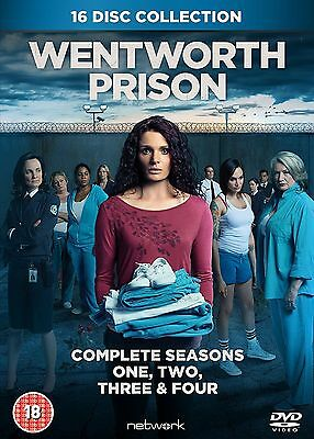 WENTWORTH PRISON -  Complete Series 1-4 Collection Boxset (NEW DVD)