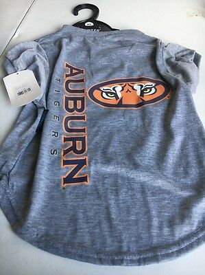 Auburn Tigers Pet Shirts-  Front And Back View , Size X- Large