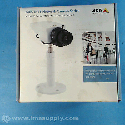 Axis Communications 0329-001 M11032.8Mm  Security Camera Fnfp