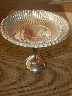 Vintage 925 Fisher Silversmith Sterling Silver Weighted Compote 940 Candy Dish