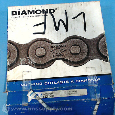 Diamond Chain 35-2 Riv 10Ft Fnfp