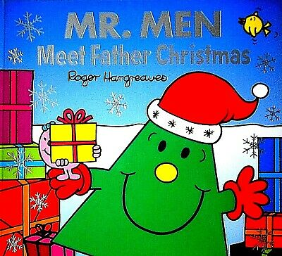 Meet Father Christmas Mr. Men children's story picture Book new