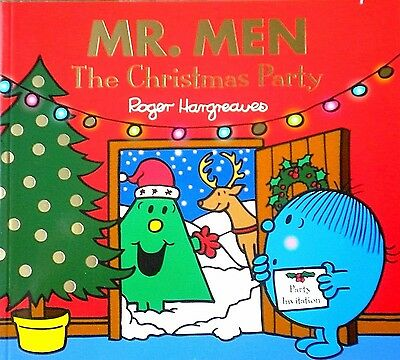 The Christmas Party Mr. Men children's story picture Book new