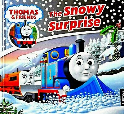 The Snowy Surprise | Thomas and Friends | Children's Christmas Story Book | New