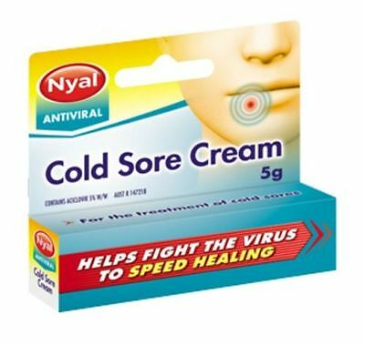 ~Nyal Antiviral Cold Sore Cream 5G Same As Zovirax
