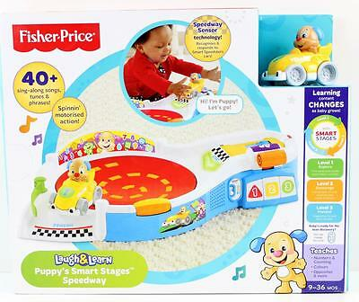 Fisher Price Laugh & Learn Puppy's Smart Stages Speedway