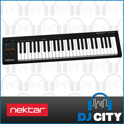 Nektar Impact GX49 USB MIDI Keyboard 49-Key w/ Bitwig 8-Track Software - NEW
