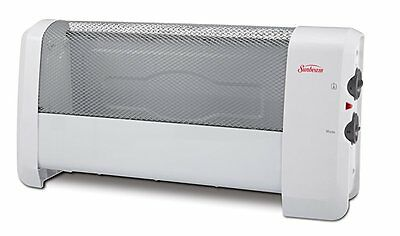 Sunbeam Low Profile Heater with Manual Controls