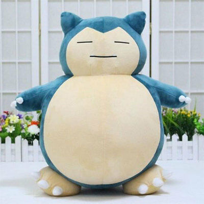 1Pcs Pokemon Snorlax 55cm Shape Soft Stuffed Plush Doll Gifts Home For Kid