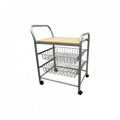 Serving Cart with Wood Top. Delivery is Free