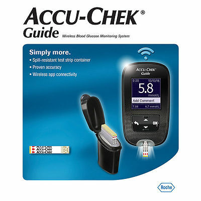 Accu-Chek Guide Wireless Blood Glucose Meter Monitor Kit Free After Cashback