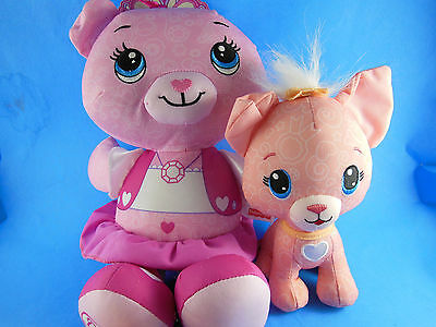 """Adorable 16"""" Fisher Price Pink Bear cloth Doll Doodle"""