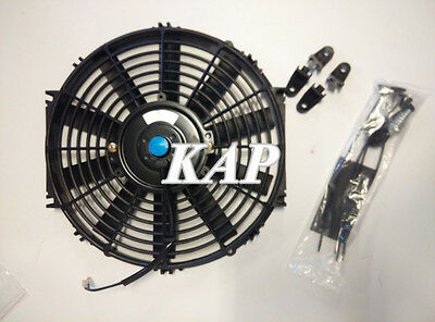 "Universal 12"" inch 12V Reversible Electric Cooling Thermo Fan &Mounting Kits"