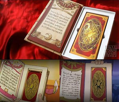 Anime Cardcaptor Sakura Clow Cards + The Nothing Card Cosplay Colletion Gift