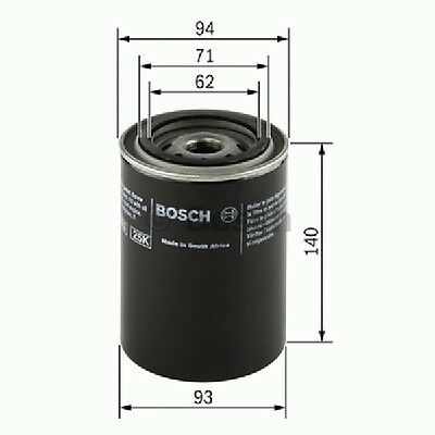 0451203235 Bosch Oil Filter P3235/1 [Filters - Oil] Brand New Genuine Part