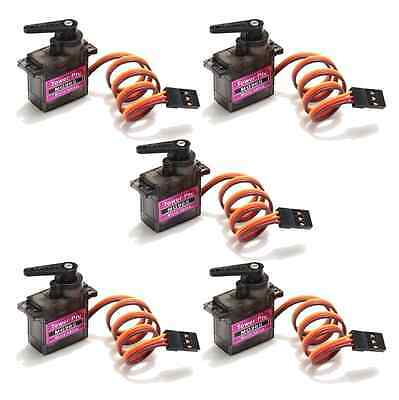 5x TowerPro MG90S 1.8Kg 13g Metall Gear Getriebe RC Mini Micro Servo TGY90S 2016