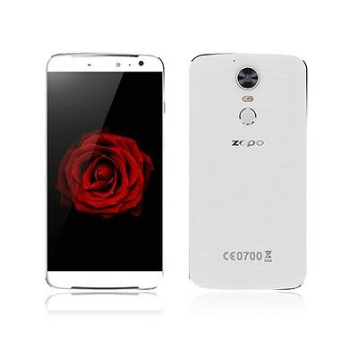 Zopo Speed 8 Dual-SIM Smartphone 32GB 14 cm 5.5 Zoll 21MP Android weiß