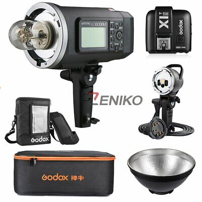 Godox AD600BM HSS Manual Flash + X1T-S + AD-H600B Flash Head + PB600 Bag + Case