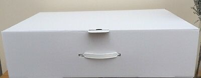 Extra large strong wedding dress storage box.77x51x20cm With 25 Large sheets of