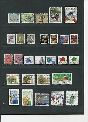 CANADA - SELECTION OF USED STAMPS - #CAN4abc