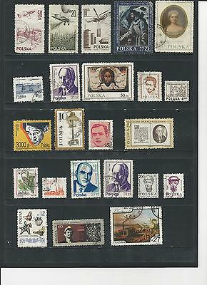 POLAND - SELECTION OF USED STAMPS - #POL1ab