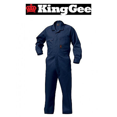 Mens KingGee Combination Drill Overall K01010 Cotton Drill Overalls Tough 107S