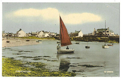 RHOSNEIGR Anglesey, Old Postcard by Valentine, Stamped but Unposted c 1960