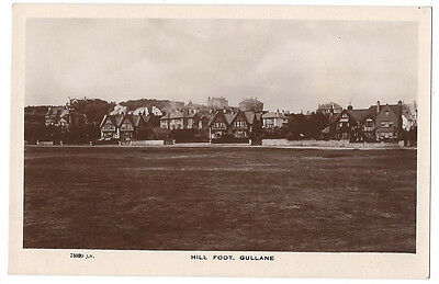 GULLANE Hill Foot, RP Postcard by Valentine, Unused