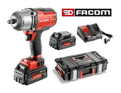 JANUARY SALE! NEW FACOM 1/2 DRIVE CORDLESS IMPACT WRENCH 2x BATTERIES +CHARGER