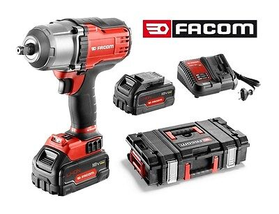WINTER SALE! NEW FACOM 1/2 DRIVE CORDLESS IMPACT WRENCH 2x BATTERIES +CHARGER