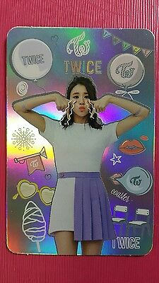 TWICE CHAEYOUNG Official Photocard HOLOGRAM V. 3rd Album TWICEcoaster : LANE1 TT