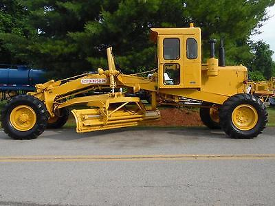 Austin Western Pacer 100 Road Grader Aws/awd