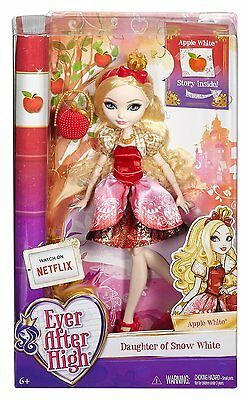 Ever After High Dolls - Royal Apple White - Daughter of Snow White BBD52 - New