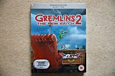 Blu-Ray  Gremlins 2  Premium Exclusive Edition  Brand New Sealed Uk Stock