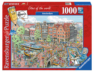 19192 Ravensburger Cities of the World Jigsaw Amsterdam 1000 Piece Puzzle