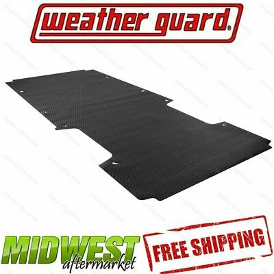 "Weather Guard 89024 Black Rubber Floor Mat for Ford Transit w//130/"" Wheel Base"