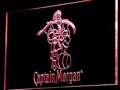 20+ Colors Multicolored Captain Morgan Spiced Neon Sign with Remote Control