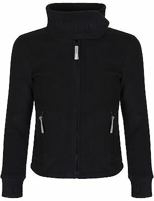 Bench Girl's Long Sleeve Jacket Black 5 Years (Manufacturer Size:5-6) NEW