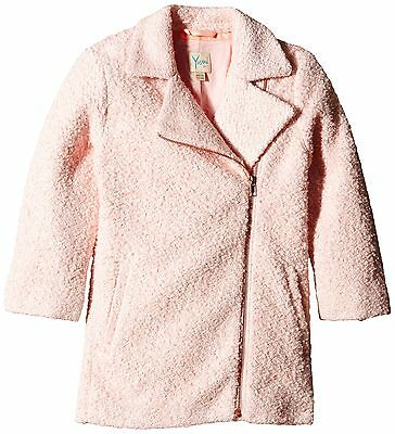 Yumi Girl's Oversized Ovoid Coat Pink 11 Years (Manufacturer Size:11-12 Y... NEW
