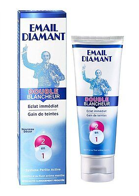 Email Diamant Dentifrice Double Blancheur 75 ml - Lot de 3