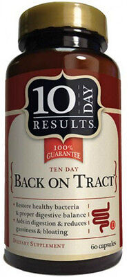 Back on Tract, 10 Day Results, 60 capsule