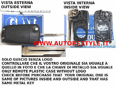 Shell Cover Key For Remote Control 2 Buttons Opel Antara Only Se As Photos