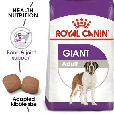 Royal Canin Giant Adult Complete Dog Food For Large Giant Breed Dogs 15kg