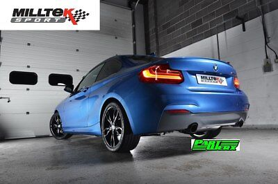 BMW 2 Series F87 M2 Coupe MILLTEK 300 Cell HJS Tuning Catalyst Cat & Downpipe EC