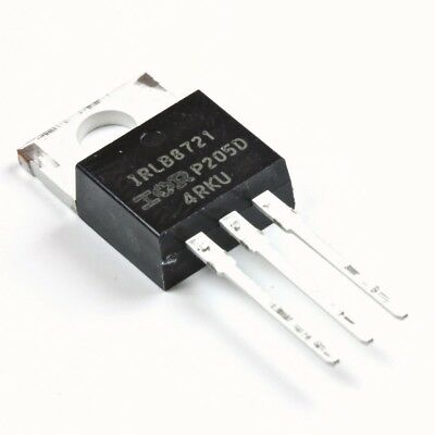 irlb8721pbf Power N-Channel MOSFET 30V 60 A (10 pack)