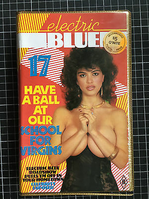 ELECTRIC BLUE #17 BETA not VHS Video Magazine R rated Men's Interest softcore
