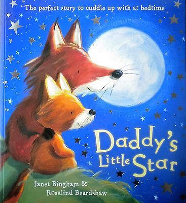 Daddy's Little Star children's bedtime story picture book new