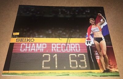 Dafne Schippers (Holland) Signed
